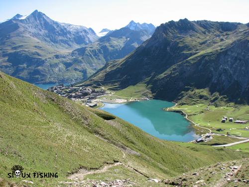 P cher le lac de tignes 73 - Lac du chevril ...